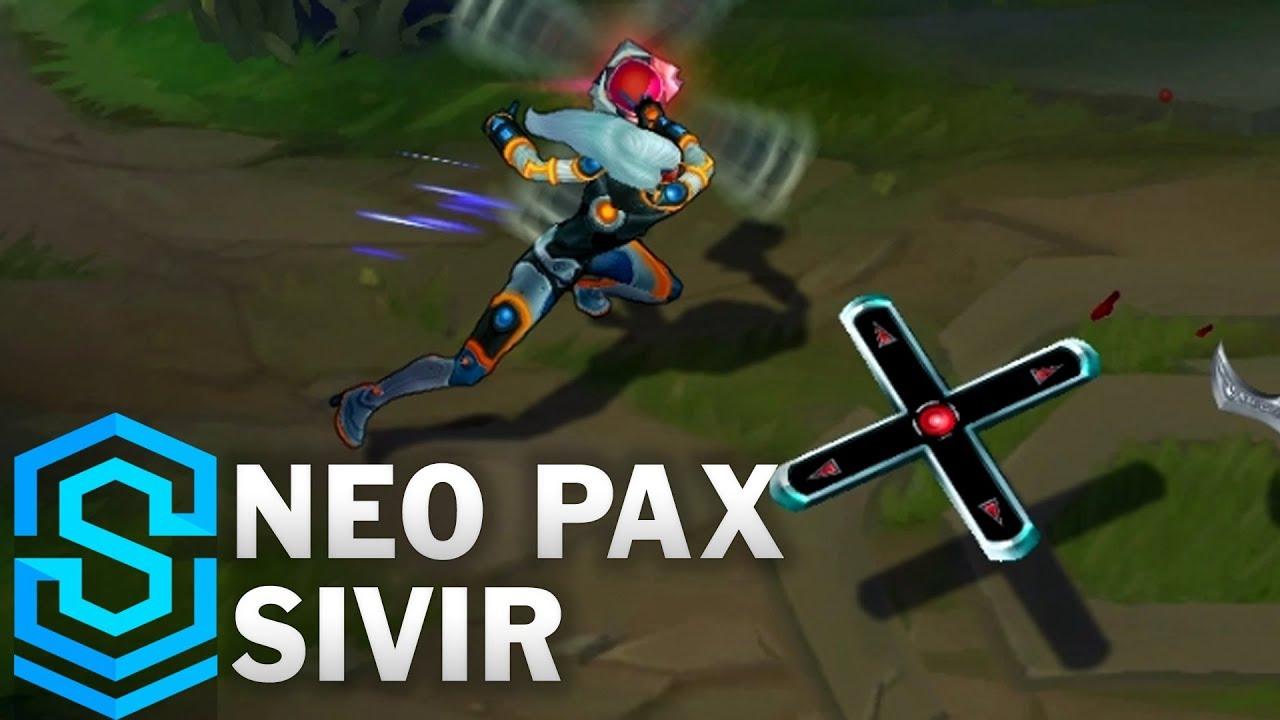 Neo PAX Sivir Skin Spotlight - League of Legends