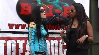 The Commander In Chief interview @Bloodstock 2012 with Sophie.K (TotalRock)