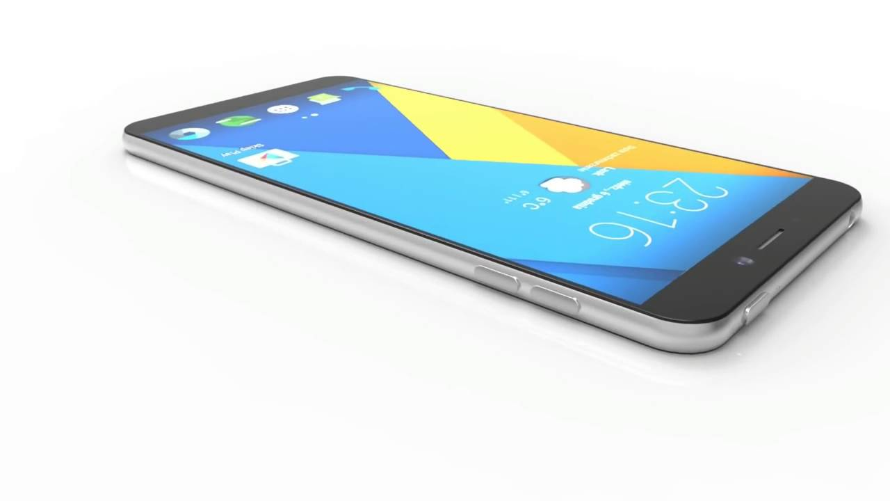Upcoming Nokia android mobile C1 mobile 3D View.
