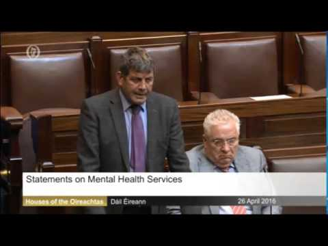 Andrew Doyle, Dail Speech 26-04-2016 Mental Health