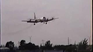 Transafrik Lockheed L-188(F) Electra Landing at MIA