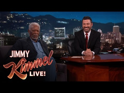 Morgan Freeman Narrates Pedestrians On Hollywood Boulevard