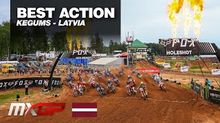 Herlings and Cairoli crash out - Gajser rules at MXGP of Latvia 2019