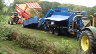 ensilage et enrubannage de maïs cantal automne 2012 suite 2
