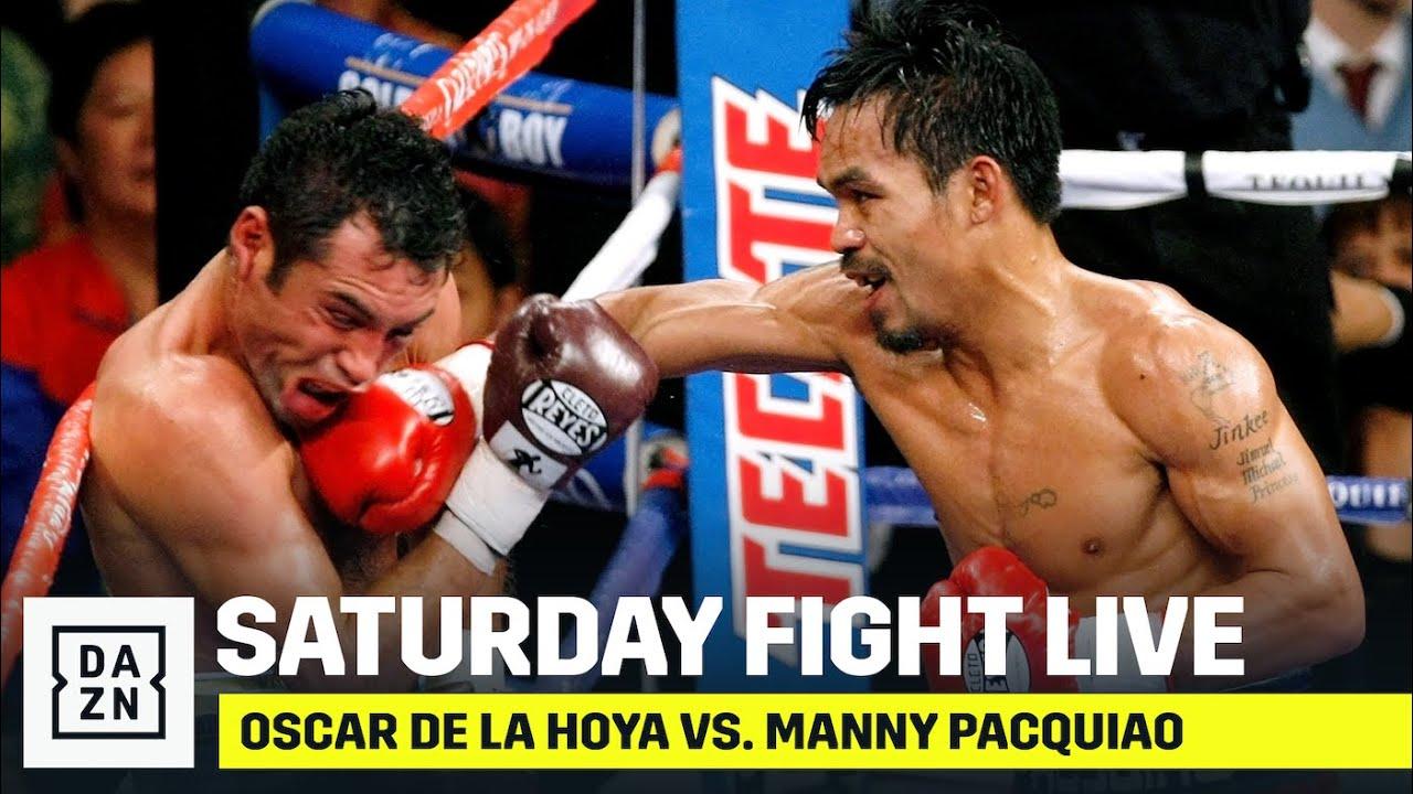Oscar De La Hoya vs. Manny Pacquiao (Saturday Fight Live)