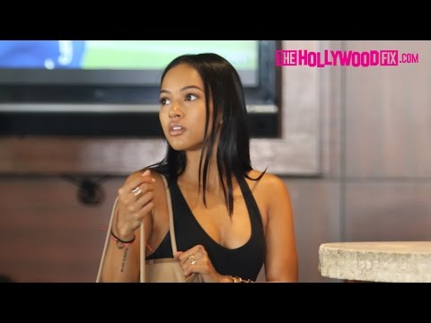 Karrueche Talks About Her Relationship Status On The Sunset Strip 10.13.15 - TheHollywoodFix.com thumbnail