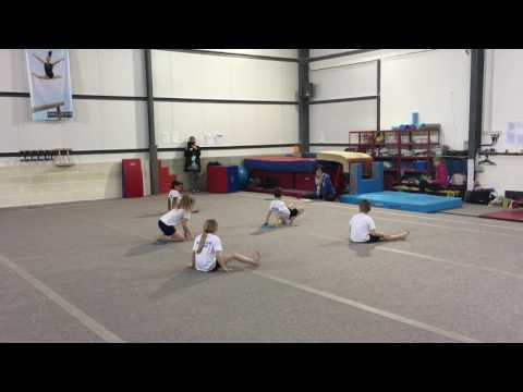 South Norfolk SSP Y1&2 Key Steps Gymnastics Competition 2017 - Ashleigh Primary School