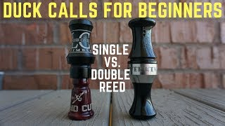 Gambar cover Duck Calls for Beginners: Single vs Double Reed