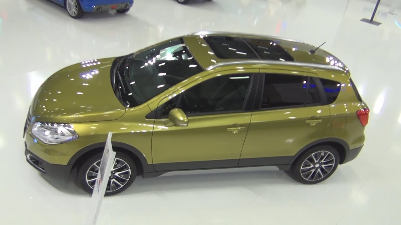 suzuki s cross glx 1 6 at 2015 exterior and interior in 3d youtube. Black Bedroom Furniture Sets. Home Design Ideas