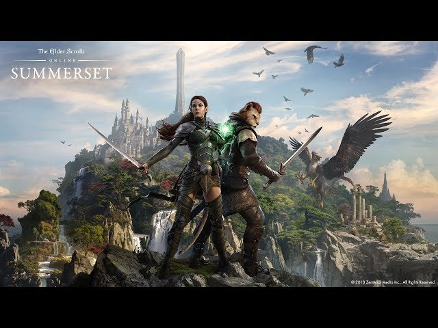 The Elder Scrolls Online: Summerset – All Cutscenes (Game Movie) 1080p HD