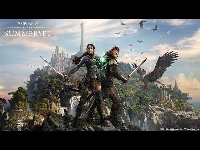 The Elder Scrolls Online: Summerset – All Cutscenes (Game Movie) 1080p HD
