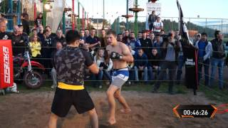 Street Fighter vs Rusian MMA Fighter