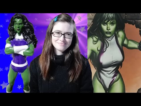 Unboxing She-Hulk from Marvel Universe 3D Collection from Editorial Salvat ft CosasParaTener