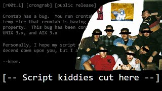 The Origin of Script Kiddie - Hacker Etymology