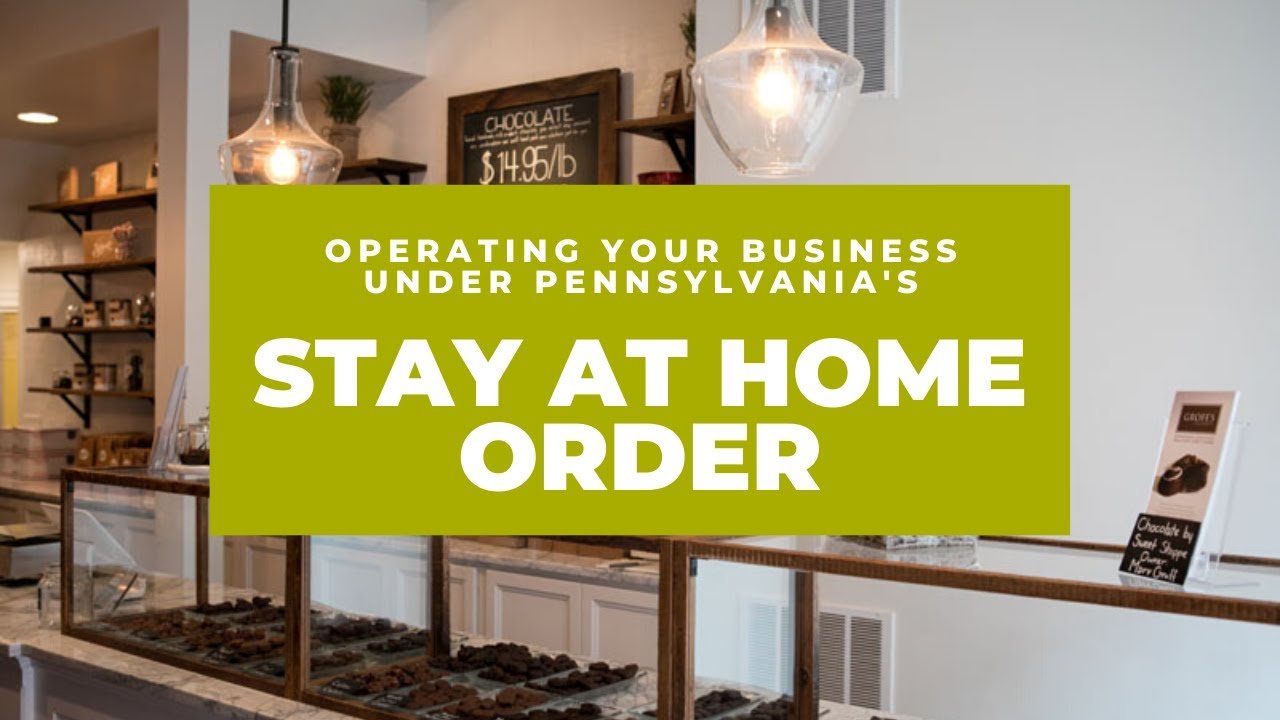 pennsylvania stay at home order