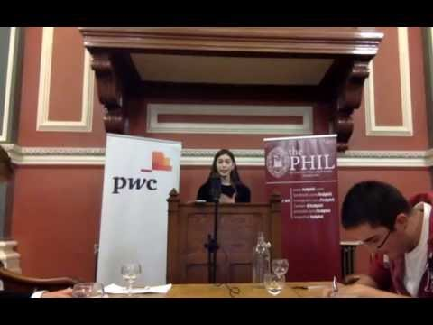 The Phil | This House Believes That Terrorism Can Be Rational | Michaelmas Term