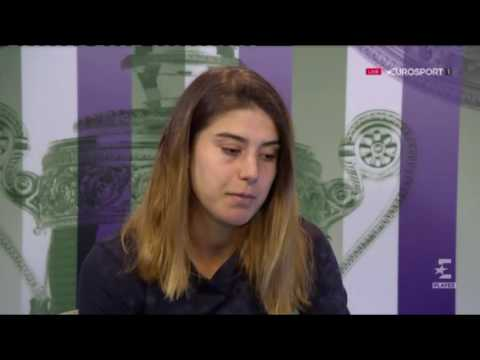 Sorana Cirstea's press conference | Wimbledon 2017 R2