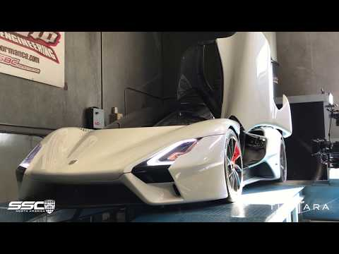 Listen to the Outrageous SSC Tuatara Flex Its 1,750-HP Twin-Turbo V-8 on the Dyno