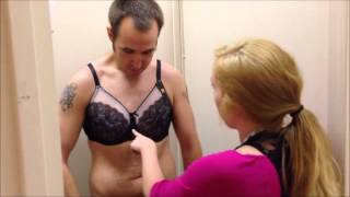 Repeat youtube video Eric the Intern Gets Fitted for a Bra at Dillard's