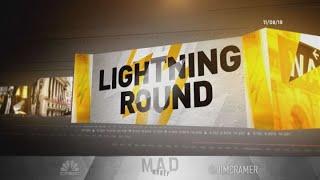 Cramer's lightning round: Microsoft is on its way to $150