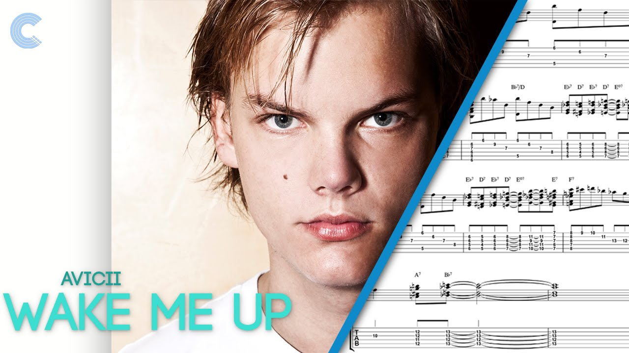 Guitar Wake Me Up Avicii Sheet Music Chords And Vocals Youtube