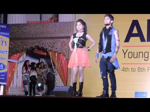 Fashion Show In Amity University Lucknow . Amiphoria (2K15)