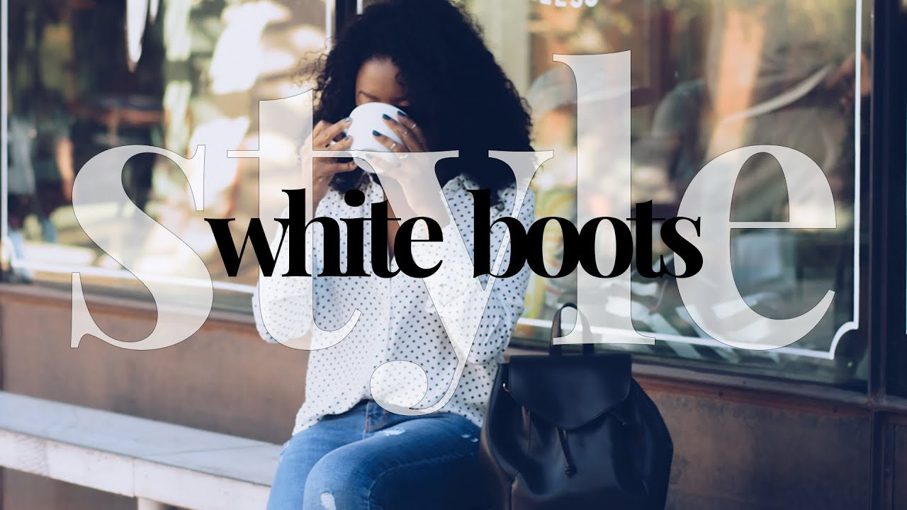HOW TO STYLE WHITE BOOTS | OUTFIT IDEAS | Venti Fashion 8