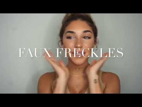 Faux Freckles!!!! Chantel Jeffries