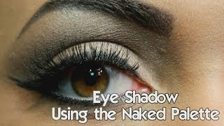 Eye Shadow Using the Naked Palette Thumbnail