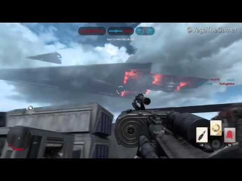 Star Wars Battlefront Imperial Advantage Fleet Scene, Sorosuub Centroplex(Super Star Destroyer)