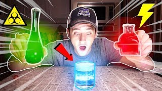 (Insane) MIXING ZOMBIE AND SPEED POTION TOGETHER AT 3AM!! (SUPER FAST ZOMBIE)