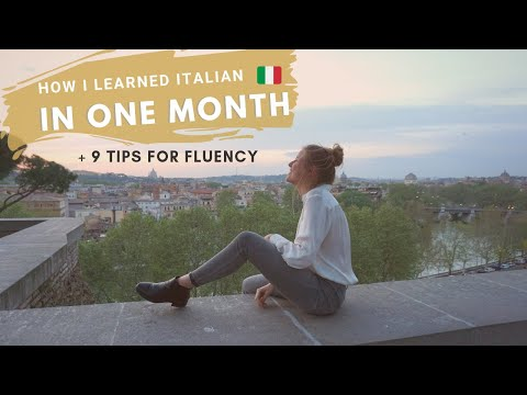 How I Learned Italian in 1 Month (9 Unique Ways to Learn a New Language FAST)