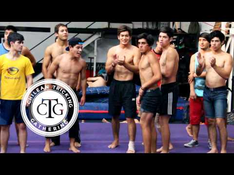 Chilean Tricking Gathering 2017 - Gym Session