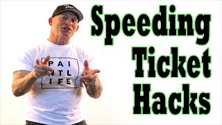 4 Hacks To Beat A Speeding Ticket in court.  Get Your Tickets Cops give you Dismissed.