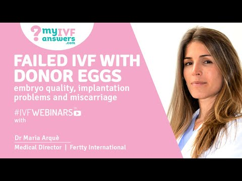 IVF and Miscarriages: is PGT-A a solution? IVF CaseStudy #IVFwebinars