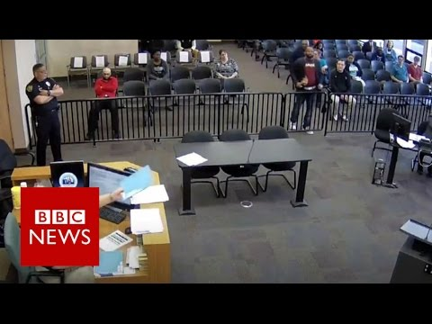 When you drop your drugs... in court - BBC News