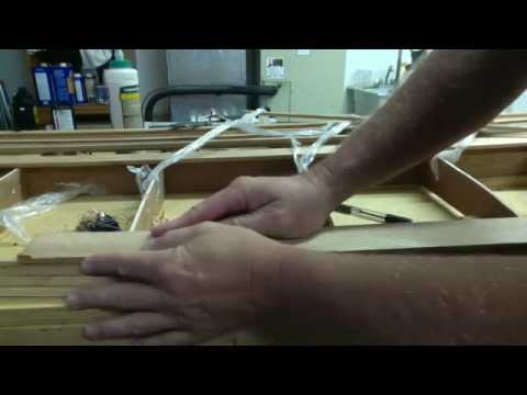 """How to build a hollow wood surfboard """"The Rails"""""""