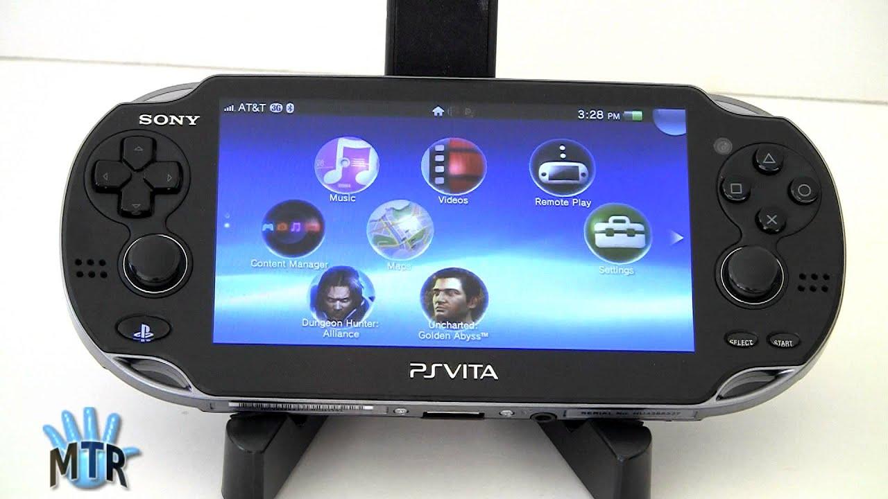 Playstation Vita Vs Psp : Sony ps vita review youtube