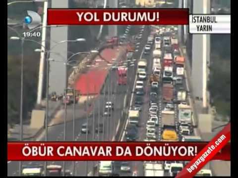 İstanbul Yol Durumu!(www.beyazgazete.com).mp4 - YouTube