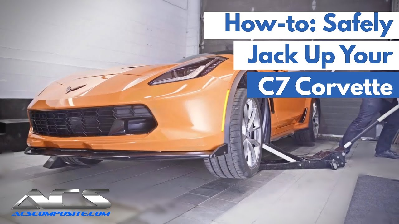 How to Jack Up Your Corvette The Right Way | ACS Composite