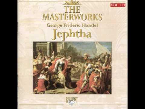 Handel  Oratório   Jephtha Completo