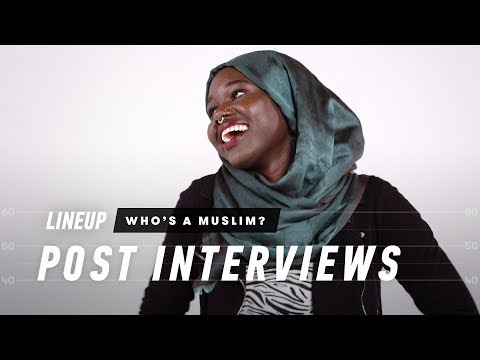 Guess Who's Muslim (Post Interview) - Lineup