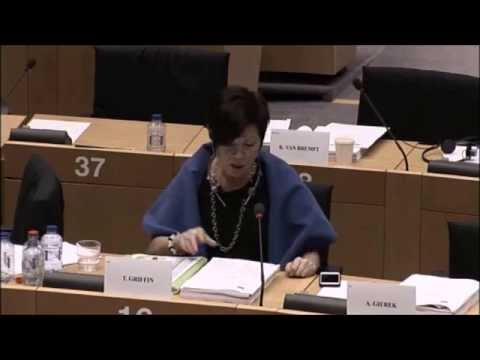Theresa Griffin MEP Questions the Luxembourg Presidency on Jobs and Growth, Trade Unions and IPR