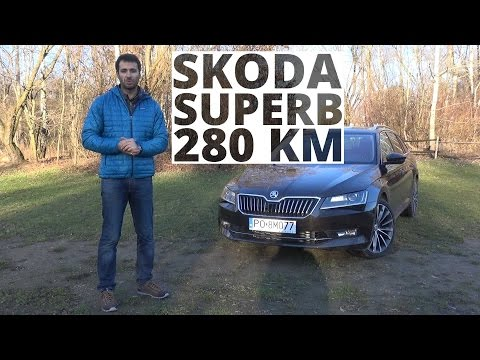 Skoda Superb Combi 4X4 2.0 TSI 280 KM, 2016 – test AutoCentrum.pl #250