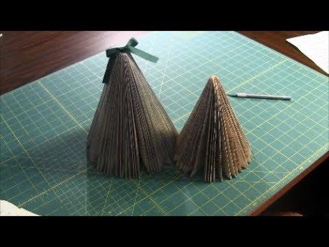 book christmas tree how to make
