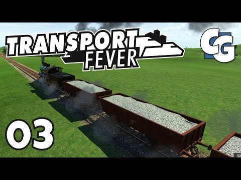 Transport Fever - Ep. 3 - Oil Industry Expansion - Transport Fever Gameplay