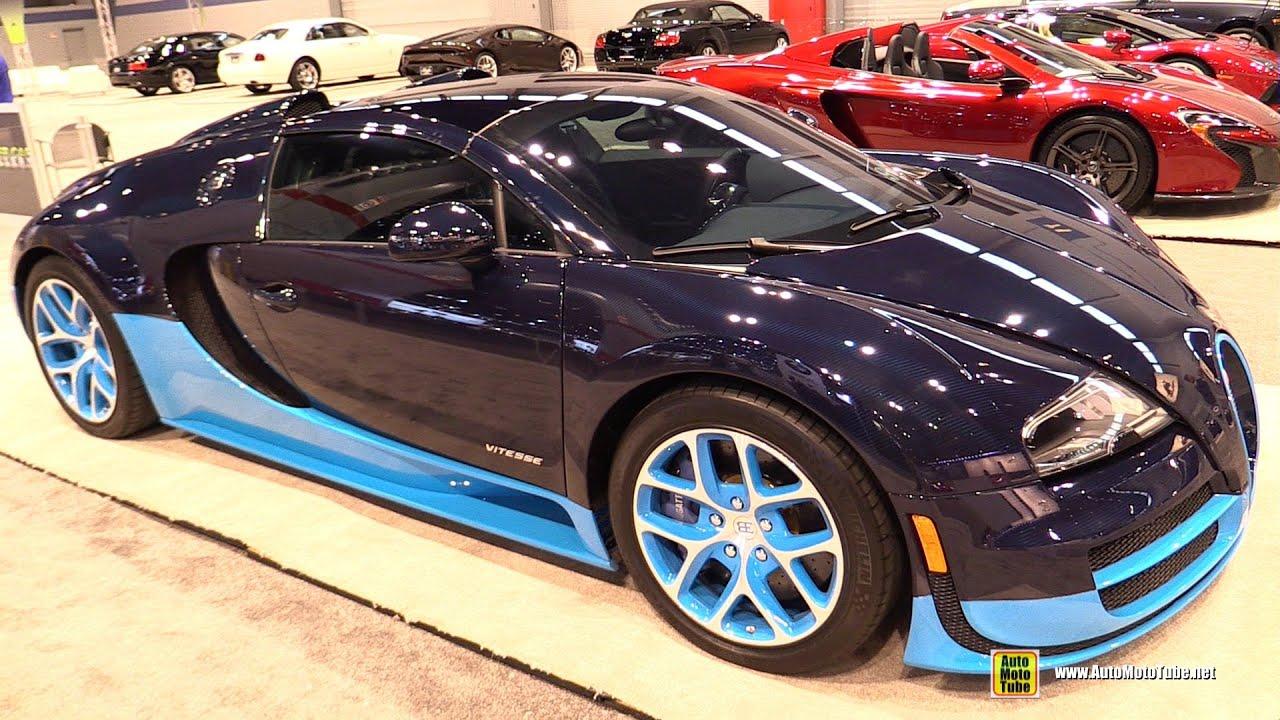 2014 bugatti veyron 16 4 grand sport vitesse exterior interior walkaround 2015 chicago auto. Black Bedroom Furniture Sets. Home Design Ideas