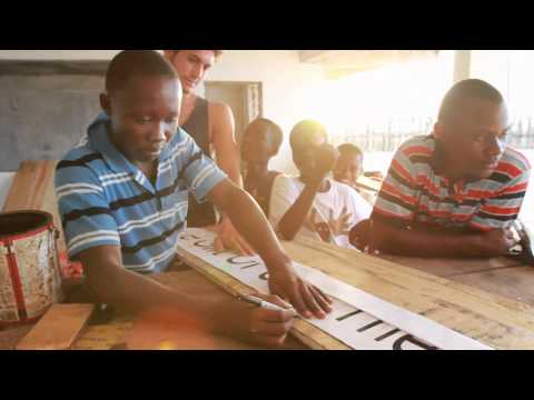 Surf Resource Network: The First Liberian Surfboard