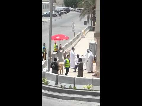 Saudi police and Shia self-defence committees work together
