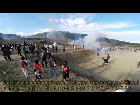 Barrage de Sivens- Affrontements tragiques et inutiles.